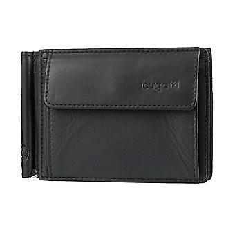 Bugatti Primo mens plånbok kort fall plånbok med Sedelklämma 3616