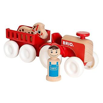 BRIO My Home Town - Farm Tractor Set 30265