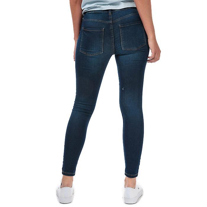 Femmes-apos;s Jacqueline de Yong New Nikki Life High Rise Skinny Jeans en bleu YOuyCE