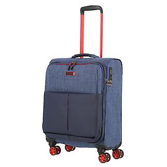 travelite Proof Handbagage Trolley S, 4 wielen, 55 cm, 36 L, blauw