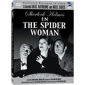 Basil Rathbone - Sherlock Holmes: Spider Woman [DVD] USA import