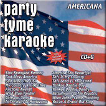 Party Tyme Karaoke - Americana [CD] USA import