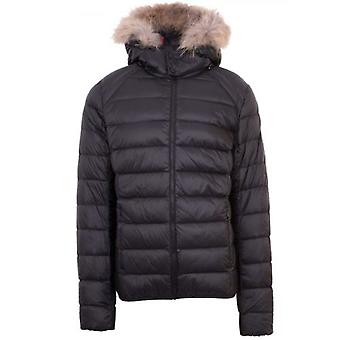 JOTT Black Prestige Fur Hood Jacket