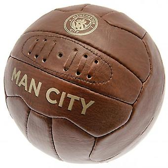 Manchester City Faux Leather Football