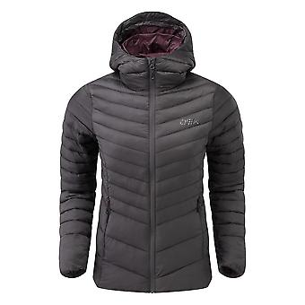 OEX Women's Idris Insulated Jacket Grey