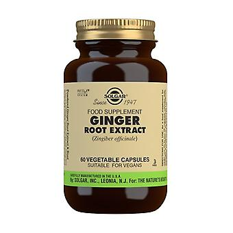Ginger Root 60 vegetable capsules