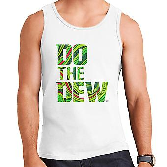 Mountain Dew Do The Dew Slogan Men's Vest