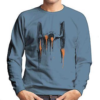 Star Wars Paint Art TIE Fighter Men's Sweatshirt