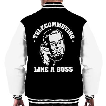Etätyö Kuin Boss Men's Varsity Jacket