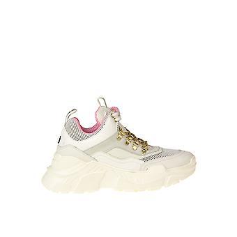 Moa Ezgl230017 Women's White Leather Sneakers