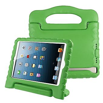 Handbag Kids Drop-resistant Protector Cover for iPad 9.7 (2018) (A1954,A1893) - Green