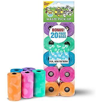 Tassen aan boord refill rolls fashion print - 140 tassen (10x14)