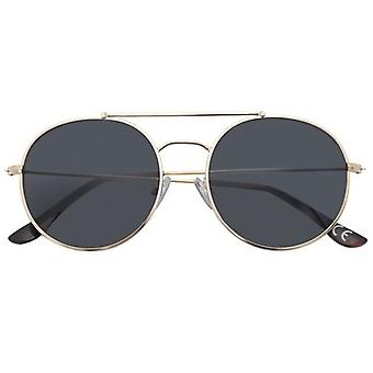 Sunglasses Unisex Ozzy around Gold/Smoke