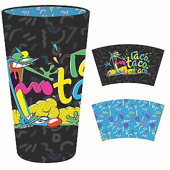 Pint Glass - CatDog - Black Inside Print 16oz New gls-nick-cdtc