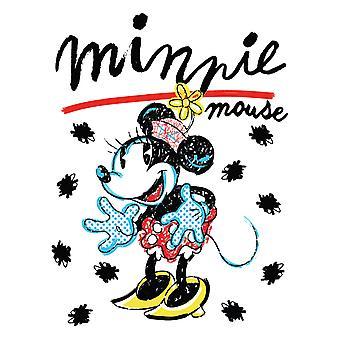 Couverture en polaire rétro de souris de Minnie