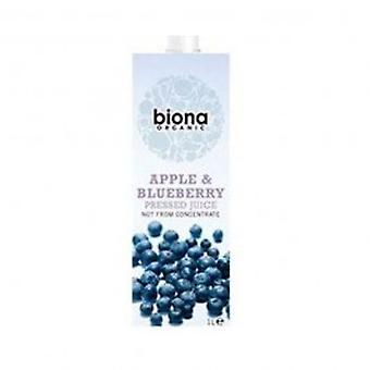 Biona - Org Apple & Blueberry Juice 1000ml