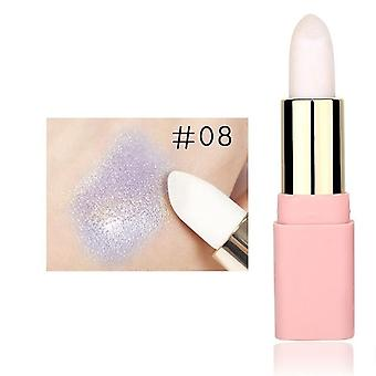 Glitter Metallic Lipstick Highlighter Imperméable à l'eau Maquillage Cosmétique