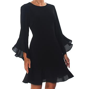Palkki III | Röyhelö-hem fit & flare mekko