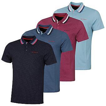 Ted Baker Herren Kabby Kurzarm Komfort Baumwolle Golf Polo Shirt