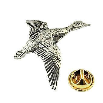 Δεσμοί Πλανήτης Mallard πάπια Πουλί Αγγλικά Πηούτερ Πέπερ Pin Badge Badge