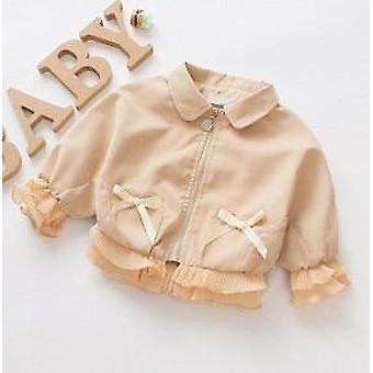 0-7y Outerwear Zipper, Autumn / Winter Jackets Clothes For Newborn
