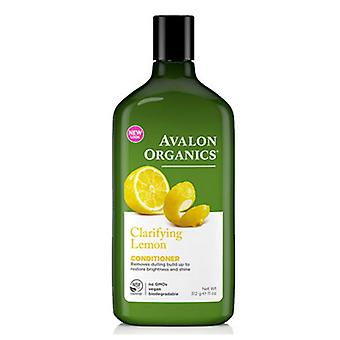Avalon Organics Klärende Conditioner, Zitrone 11 Oz