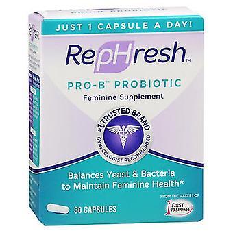 Rephresh RepHresh Pro-B Probiotic Feminine Supplement, 30 Caps