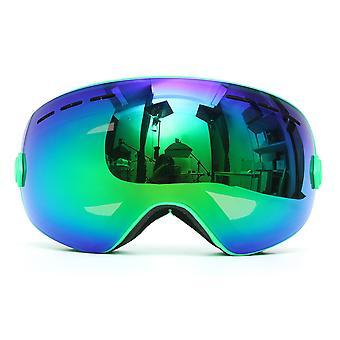 Deux couches Lens Moto PROTECTION UV Anti-brouillard Snowboard Lunettes de ski