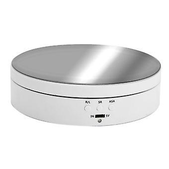Vitesses Électrique Rotation Affichage Stand Miroir Platine Bijoux Porte-bijoux Batteries