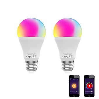 Wifi Smart Led Dimmable Lamp, Smart Life Tuya App Remote Control Work With