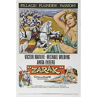 Zarak Movie Poster drucken (27 x 40)