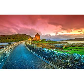 Mural de pared Eilean Donan Escocia