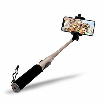 Aquarius Selfie Stick mit Videofunktion - Gold