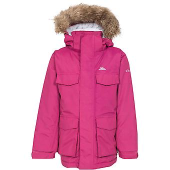 Trespass Girls Starrie TP75 chaqueta acolchada impermeable Parka