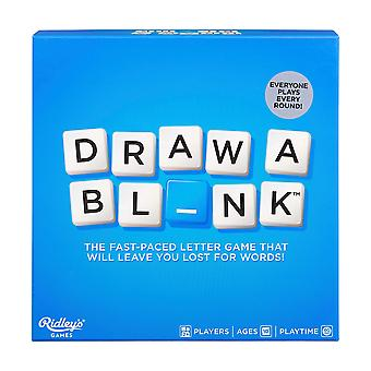 Ridley's draw a blank word game