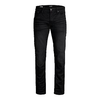 JACK & JONES män komfort fit jeans MIKE ORIGINAL JOS mitten av upphov Reg grundläggande comfy