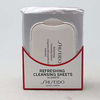 Shiseido Refreshing Cleansing Sheet 30 Sheets  / New With Box
