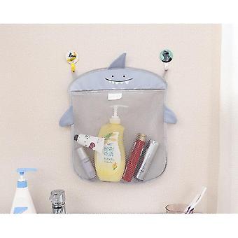 Cartoon niedlichen Badezimmer hängen Lagerung Korb Baby Kinder Baden Spielzeug Veranstalter