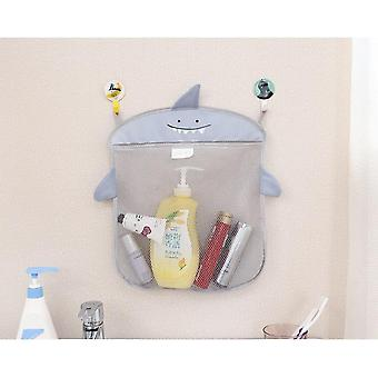 Cartoon Cute Bathroom Hanging Storage Basket Baby Kids Bathing Toy Organizer