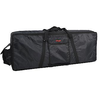 Stagg k10-097 61 note keyboard bag - black, 61 note standard dimensions: 97 x 37 x 13 cm
