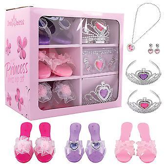 Dress up america 950 kids first princess accessory dress up set, multicolor