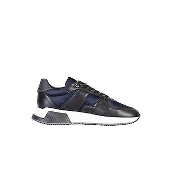 Android Homme Matador Leather /nylon Trainer Black