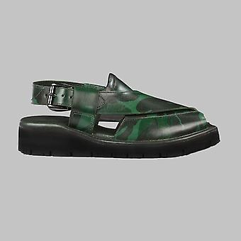 Marker camo mens cowhide genuine eco leather sandals