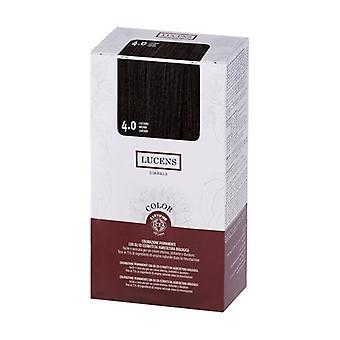 Lucens color tint 4.00 - chestnut 135 ml