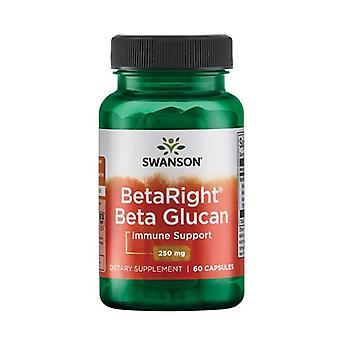 Ultra BetaRight Beta Glucans 60 capsules of 250mg