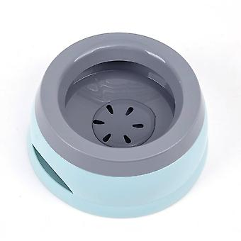 Pet Dog Bowls Floating, Not Wetting Mouth Cat Bowl, No Spill Drinking Water
