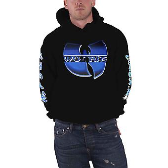 Wu Tang Clan Hoodie Band Logo C.R.E.A.M. new Official Mens Black Pullover