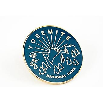 Yosemite-Nationalpark Emaille Pin
