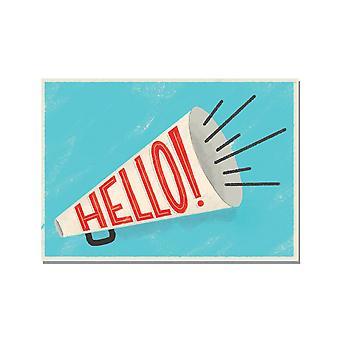 Hello! Political Action Postcards