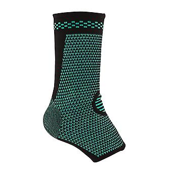 S Taille Coton Noir Latex Spandex Knitted Pressure Wrist Sports Ankle Protectors